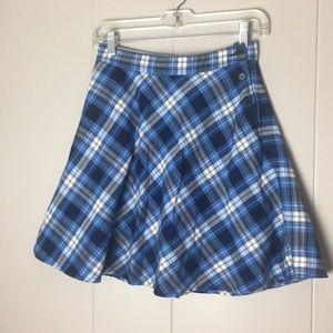 Tommy Hilfiger plaid pleaded skirt